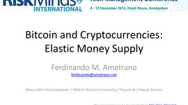Bitcoin and Cryptocurrencies: Elastic Money Supply
