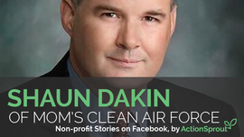 What's the success behind Mom's Clean Air Force?