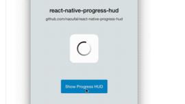 naoufal/react-native-progress-hud