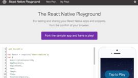 React Native Playground Updates