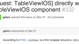 Directly wrap UITableView with a TableViewIOS component