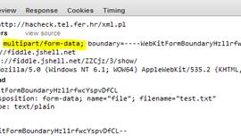 XHR FormData upload example by @philikon