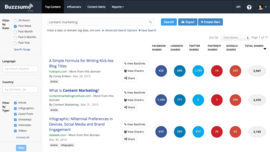 $ BuzzSumo: Find the Most Shared Content and Key Influencers