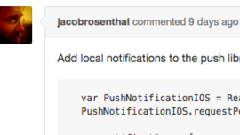 Add local notification api schedule and present