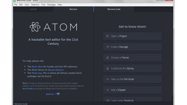 Atom 1.0 Text Editor for coders by GitHub is out