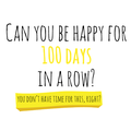 Lessons from Chronicling 100 Days of Happiness