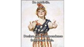#2 Your country needs you. #fourthofjuly - Earth Day Network