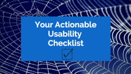 Your Actionable Usability Checklist: Usability Mistakes to Fix | Search Engine People