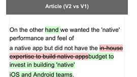 Why our Startup Chose React Native and What we Learned (Blog post)