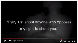 Snapshot of American Gun Extremists - YouTube