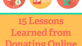 15 Lessons Learned from Donating Online to 32 Nonprofits