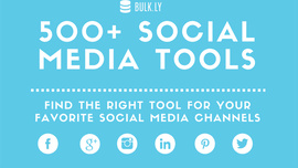 515 Social Media Tools - The Definitive List | Bulk.ly