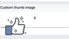 Added method to set thumb image on iOS
