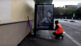 600 Fake Outdoor Ads in Paris Blast Corporate Sponsors of the COP21 Climate Talks | Adweek