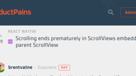 Avoid interrupting scrolling in nested scrollviews