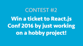 React.js Conf 2016 Contest