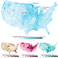 Soil Composition Across the U.S. : Maps