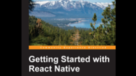 Getting Started with React Native from Packt (Book)