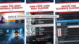 CBS Sports Franchise Football (New app)
