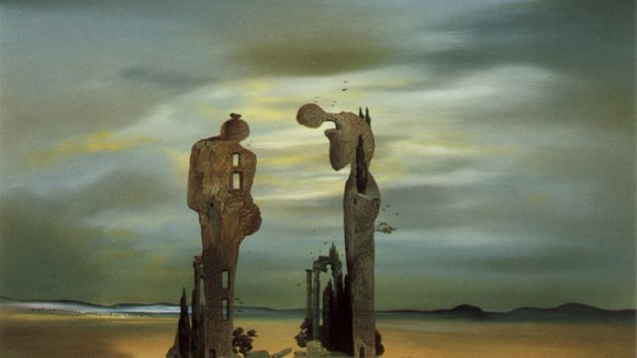 Dive inside a Dalí painting with Virtual Reality - YouTube