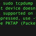 [簡] tcpdump:抓取手機封包的好工具