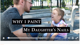 Why I paid My Daughter's Nails