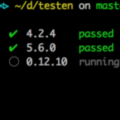 Run tests for multiple versions of Node.js in local env.