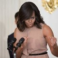 Michelle Obama Visits Gardeners in Schools & the Community
