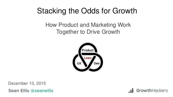 Product Driven Growth from Lean Product Meetup