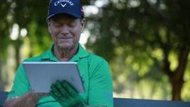 IBM is pairing up IBM Watson with Tom Watson at The Masters