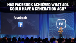 Has Facebook Achieved What AOL Could Have A Generation Ago?