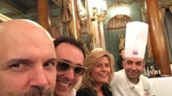 Afgelopen weekend in Florence 10 top Michelin chefs voor één diner!   #PremioItaliaaTavola @EuroToquesIT