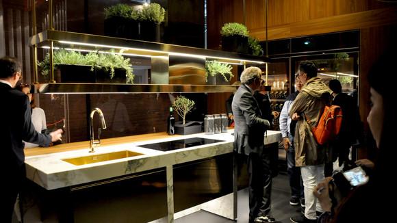 Arclinea nu op het Salone del Mobile 2016 in Milaan