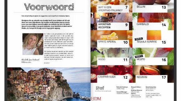 Aperitivo Italiano | Onze nieuwe uitgave met Apero recepten - Italië met Dolcevia.com