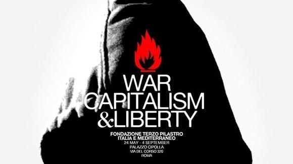 WAR, CAPITALISM & LIBERTY by Banksy | Rome - Italië met Dolcevia.com