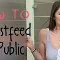 WATCH: HOW TO Breastfeed in Public. Funny