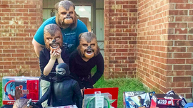 Kohl's Sent a Star Wars Treasure Trove to the Woman Behind the Megaviral Chewbacca Video | Adweek
