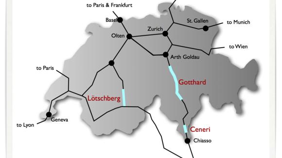 De Gotthard Basis Tunnel gaat op 5 juni open - Italië met Dolcevia.com
