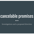 Cancelable promises