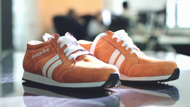 Sneakers That Vibrate to Lead You