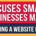 6 Excuses Small Businesses Make For Not Having a Website in 2016 [INFOGRAPHIC]