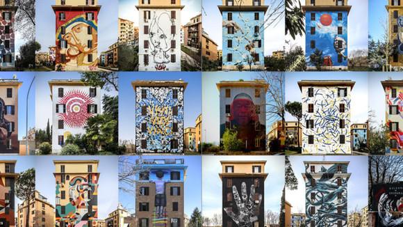 Streetart wordt eindelijk als volwassen kunst gezien en getoond tijdens de Biennale in Venetie.