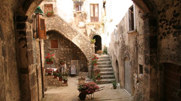 De verdeelde herberg, alberghi diffusi van luxe tot eenvoud. - Italië met Dolcevia.com