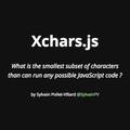 Xchars.js