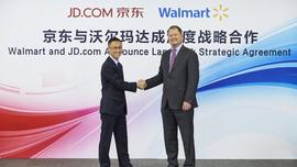 Walmart and JD.com Announce  Alliance