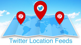 Twitter Launches Location Feeds