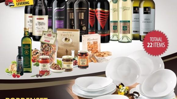 Van het grootste wijnhuis in Italie speciaal voor Dolcevia lezers