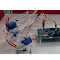 [繁]【Intel Edison】開發板製作簡易的4軸機器手臂