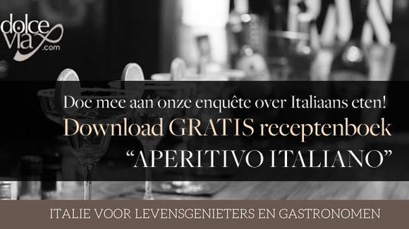 Aperitivo Italiano | Onze uitgave met Apero recepten - GRATIS download