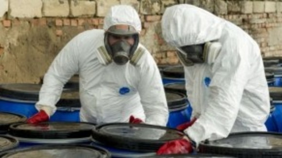 Transport of obsolete pesticides away from Moldova now in full swing
